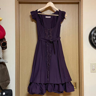 Mary Magdalene キュリアスジャンパースカート  ブルー