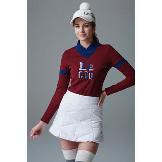 le coq sportif - Le coq ゴルフ ルコック 韓国 golf ダウン スカート