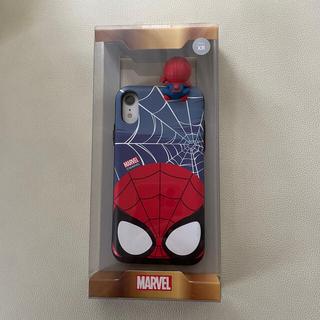 マーベル(MARVEL)のマーベル スパイダーマンスマホケース iPhone XR(iPhoneケース)