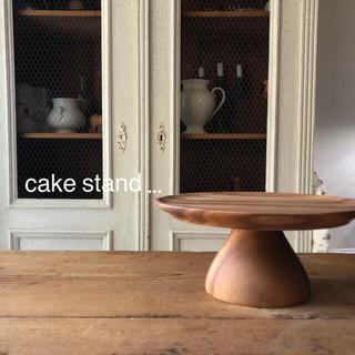 ChaBatree チャバツリー ケーキスタンド 木製
