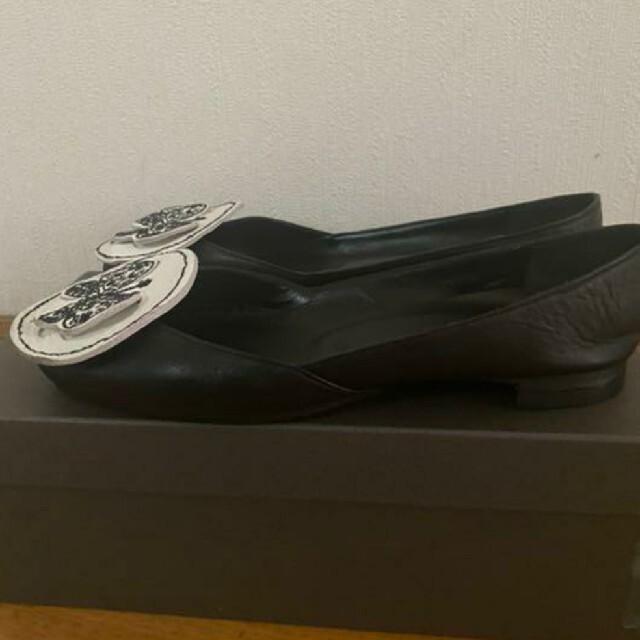 mina perhonen(ミナペルホネン)の新品 ミナペルホネン forestwing パンプス23.5 レディースの靴/シューズ(ハイヒール/パンプス)の商品写真