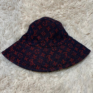 LOUIS VUITTON - 【LOUIS VUITTON】モノグラムデニムハット リバーシブルバケットハット