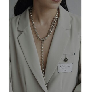 Ameri VINTAGE - アメリヴィンテージ BALL CHAIN ONE ROUND NECKLACE