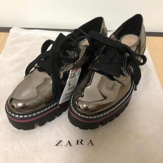 ザラ(ZARA)のZARA オックスフォード(ローファー/革靴)