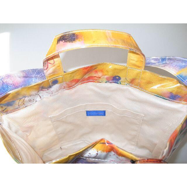 COMME des GARCONS(コムデギャルソン)のコムデギャルソン FUTURA PVC トート バッグ yellow pink メンズのバッグ(トートバッグ)の商品写真
