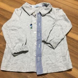 ファミリア(familiar)のファミリア トップス 7部袖 80 美品(シャツ/カットソー)