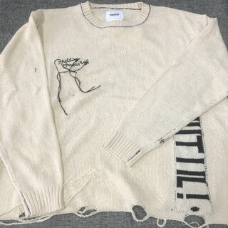 ダブルビー(DOUBLE.B)のdoublet HIDDEN MESSAGE KNITWEAR(ニット/セーター)