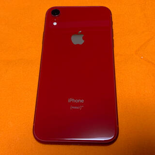 iPhone - 美品キズなし バッテリー94% iPhone XR red