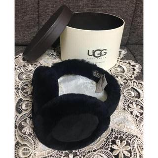アグ(UGG)のUGG イヤーマフ BLACK 未使用 正規品(イヤーマフ)