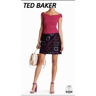 テッドベイカー(TED BAKER)の美品♪ TED BAKER  テッドベイカー  スカート(ミニスカート)