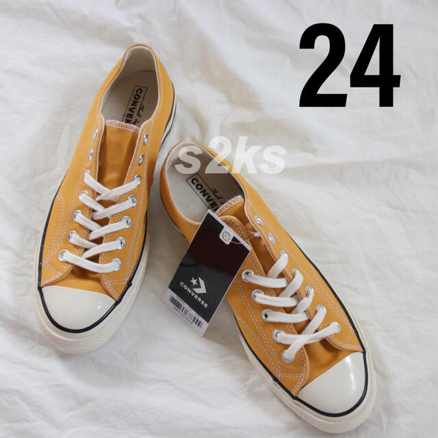 CONVERSE(コンバース)のconverse コンバース チャックテイラー ct70 サンフラワー 24cm レディースの靴/シューズ(スニーカー)の商品写真