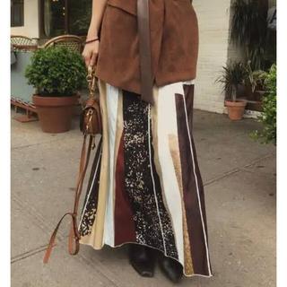 Ameri VINTAGE - Ameri Vintage fude art skirt