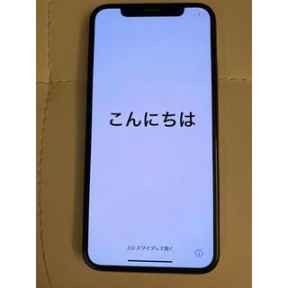 iPhone - iPhone X 10 シルバー silver simフリー 64gb