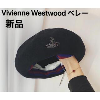 Vivienne Westwood - Vivienne Westwood ベレー 帽子 ORB刺繍 バスクベレー