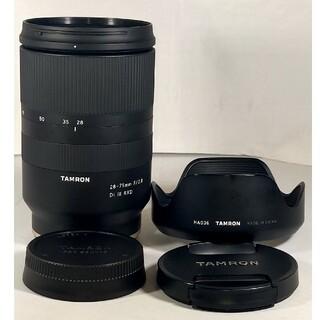 SONY - TAMRON 28-75mm F2.8 DiIII RXD ソニーEマウント