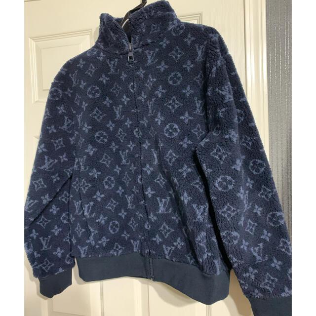 LOUIS VUITTON(ルイヴィトン)のルイヴィトン モノグラムジャカードフリースジップスルージャケット メンズのジャケット/アウター(その他)の商品写真