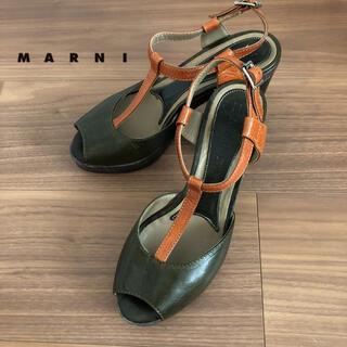 マルニ(Marni)の☆おしゃれなMarniマルニ☆シックなサンダル(サンダル)