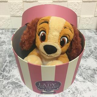 Disney - ディズニー わんわん物語  65周年記念限定  レディぬいぐるみ