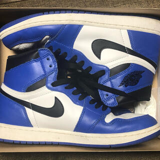 NIKE - NIKE AIR JORDAN1Game Royal 27.5