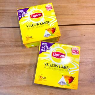 新品【120袋】リプトンイエローラベルティーバッグ 紅茶(茶)