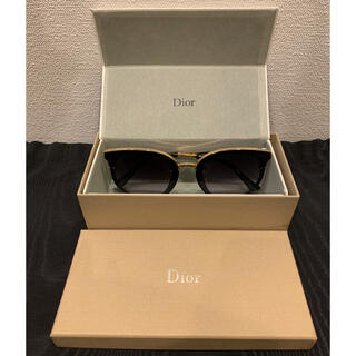 "Dior - 【DIOR】Logo Painted Sunglasses ""BLACK"""