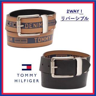 TOMMY HILFIGER - 日本未入荷★トミーヒルフィガー レザー リバーシブル ベルト