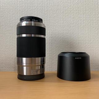 SONY - SONY E55-210mm F4.5-6.3 OSS シルバー おまけあり