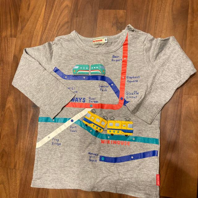 mikihouse(ミキハウス)のmikiHOUSE キッズ/ベビー/マタニティのキッズ服男の子用(90cm~)(Tシャツ/カットソー)の商品写真