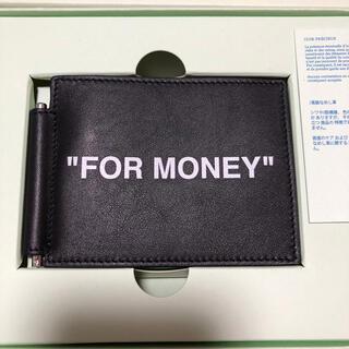 オフホワイト(OFF-WHITE)のoff-white 財布 wallet(折り財布)