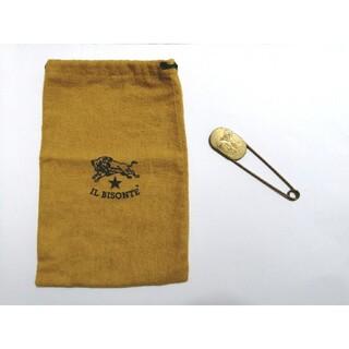 IL BISONTE - イルビゾンテ ピン 巾着袋