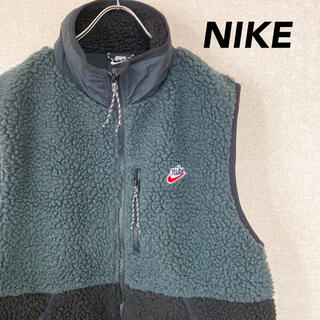 NIKE - NIKE ナイキ フリース ボア ベスト 古着 メンズ レディース XL