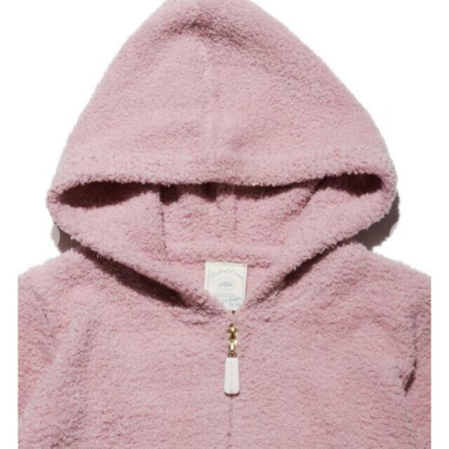 gelato pique(ジェラートピケ)のベビモコ'ストロベリージャガード baby ロンパース キッズ/ベビー/マタニティのベビー服(~85cm)(ロンパース)の商品写真