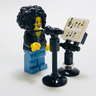 Lego - 【新品未使用】レゴ  ボイストレーニング 楽譜 マイク マイクスタンド セット♪