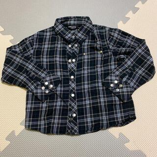 コムサイズム(COMME CA ISM)のCOMME CA ISM チェックシャツ 100(ブラウス)