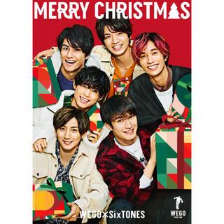 ウィゴー(WEGO)のWEGO SixTONES クリスマス ポストカード(アイドルグッズ)