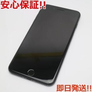 アイフォーン(iPhone)の美品 SOFTBANK iPhone7 PLUS 256GB ジェットブラック (スマートフォン本体)