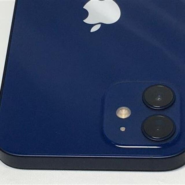 Apple(アップル)のiPhone12 128GB simフリー ブルー スマホ/家電/カメラのスマートフォン/携帯電話(スマートフォン本体)の商品写真