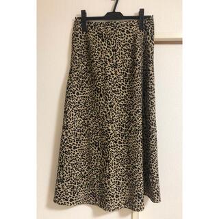TODAYFUL - 6日まで値下げ!レオパードスカート★willfully★Mサイズ