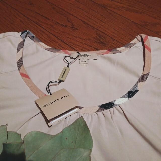 BURBERRY(バーバリー)のBURBERRY✩.*˚半袖Tシャツ Lサイズ レディースのトップス(Tシャツ(半袖/袖なし))の商品写真