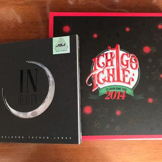 ジェイワイジェイ(JYJ)のJYJ DVD ICHIGO ICHIE & CD In Heaven セット(ミュージック)