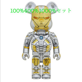 MEDICOM TOY - セット!BE@RBRICK IRON MAN 100% 400% 1000%