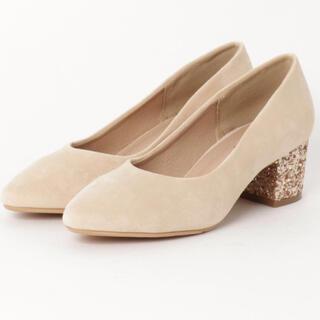 グレイル(GRL)のグリッターヒール スエード パンプス Shoes in Closet(ハイヒール/パンプス)