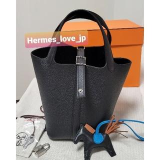 Hermes - 新品★エルメス ピコタンロック 18 PM ブラック