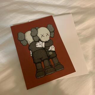 モマ(MOMA)のKAWS グリーティングカード(印刷物)