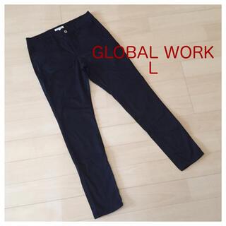 GLOBAL WORK - グローバルワーク  ブラック パンツ L
