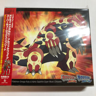 ポケモン(ポケモン)のニンテンドー3DS ポケモン オメガルビー・アルファサファイア スーパーミュージ(ゲーム音楽)