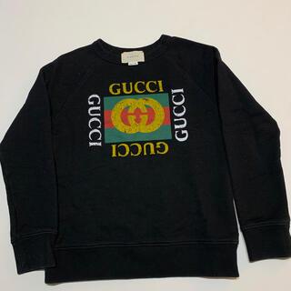 Gucci - GUCCI グッチ チルドレン キッズ スウェット オールドロゴ 8 黒