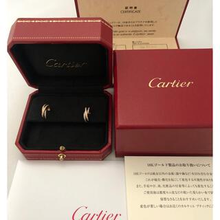Cartier - カルティエ トリニティ フルダイヤ