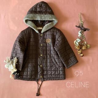 celine - CELINE セリーヌ∴♔ キルティング ファーコート*̩̩̥୨୧˖