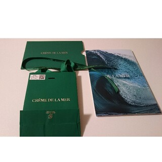 ドゥラメール(DE LA MER)のドゥ・ラ・メールカタログ ドゥ・ラ・メール紙袋(サンプル/トライアルキット)